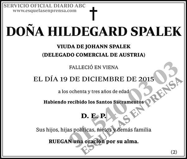 Hildegard Spalek